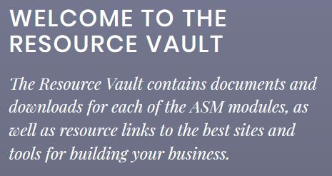 Amazing Selling Machine Resource Vault